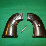 Vintage Antique Colt SAA Pistol Gun Crips 'Been There' Wear #'d 4128 Honest Old