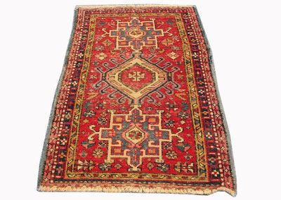 Hand Knotted Persian Shirazi Oriental Area Rug 4×3 FT Free Shipping